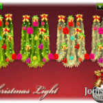 jomsims' christmas light wall 1