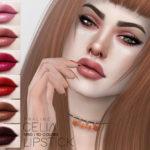 Pralinesims' Celia Lipstick N150