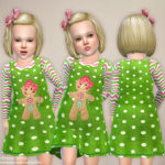 lillka's Green Gingerbread Dress