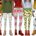 Wicked_Kittie's Cute Christmas Leggings