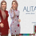 SFSims' ALITA dress – SF Sims – Mesh needed