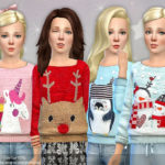 lillka's Knit Winter Jumper for Girls