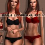 L0UNA's Simple Underwear Set V1 – Lounacutex.