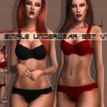 L0UNA's Simple Underwear Set V1 – Lounacutex.