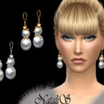 NataliS_Snowman earrings