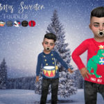 MadameChvlr's Toddler Christmas Sweater /CHVLR