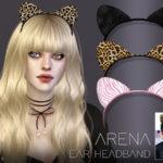 Pralinesims' Arena Ear Headband