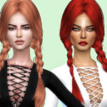 Sharareh's K129 hair retexture -MESH NEEDED