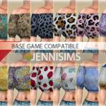 Jennisims: Downloads sims 4:Base Game compatible Blouse (30 Swatches)