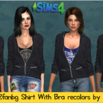 Shirt with Bra recolors