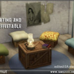 Blackys Sims 4 Zoo – Seating and coffeetable by mammut. Details and…