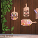 My Space | ***Cutting Boards*** Sims 4 Includes 4 cutting…
