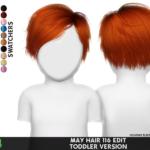 MAY 116 HAIR EDIT TODDLER VERSION