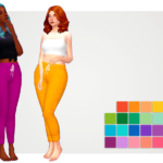 very nice trash plant | recolor of @blushchat 's really cute sweatpants…