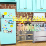 frolickinggnomes Budgie's Sticker Fridge in Noodles' Sorbets!