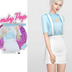 WAEKEY • Candy Pop Suspender Dress • New mesh • Category:…