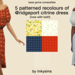 linky — 5 patterned recolours
