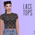 DescargasSims: Lace Tops Female Teen – Young – Adult – Elder HQ…