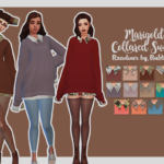 Bubbysims – The second I saw this sweater, I knew I had to…