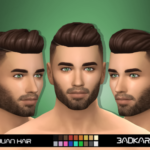 BADKARMA | Julian Hair by BADKARMA Base Game Compatible. Hat…