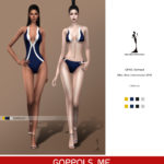 GOPPOLS Me — GPME Swimsuit
