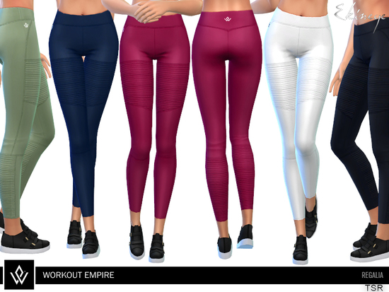 16dfb690fc Workout Empire – Regalia collection item Found in TSR Category 'Sims 4  Female Everyday'