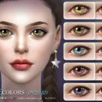 S-Club LL ts4 Eyecolor 201801