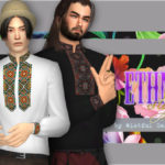 WistfulCastle's Ethno style – male shirt