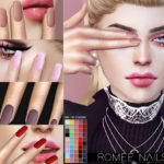 Pralinesims' Romee Nails N21