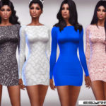 EsyraM's Aline_Mini Dress_Set