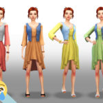 cryiingemoji's Laundry Day Dress Recolours – Rainbow
