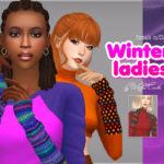 WistfulCastle's Winter ladies – female mittens