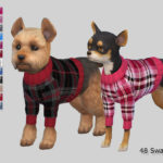 Pinkzombiecupcakes' Burberry Small Dog Sweaters Collection