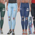 Pinkzombiecupcakes' Ripped Denim Jeans Zack 010