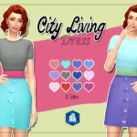 KASS – City Living Dress – Recolor