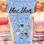 KASS – Ane Short – Maxis Match