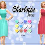 KASS – Charlotte Dress – Maxis Match