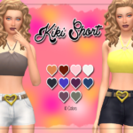 KASS – Kiki Short – Maxis Match