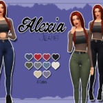 KASS – Alexia Jeans – Maxis Match