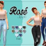 KASS – Rosé Jeans – Maxis Match