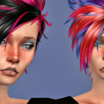 Jennisims: Downloads sims 4: Newsea Bad Kid Hair retexture Male /Female