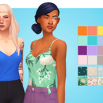 very nice trash plant | recolor of @cakenoodles thorne top in my…