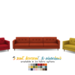 Kinsey Sofa Series – MCM Inspired Seating