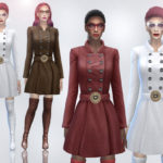 jomsims' Kenza coat dress