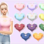ilovespix's Heart Top (Mesh Needed)