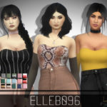 Elleb096's Sheer Sleeve Top (base game)