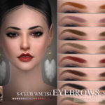 S-Club WM ts4 Eyebrows 201804