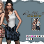 Mary Dress – RoseWho-Sims
