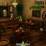 Around the Sims 4 | Custom Content Download | Irish Pub