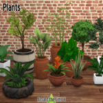 Around the Sims 4 | Custom Content Download | Pots & Plants